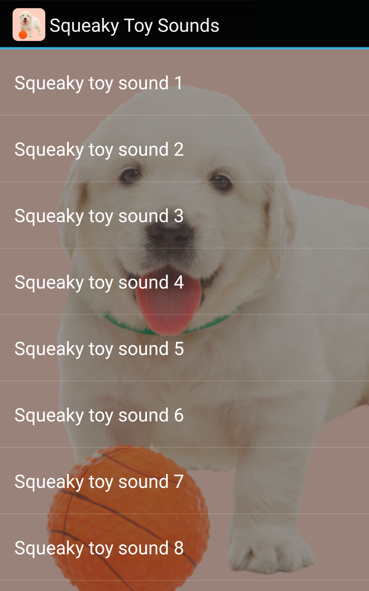 Dog Squeaky Toy Ringtone
