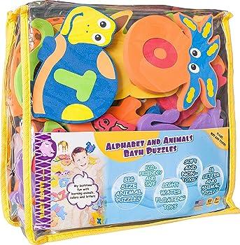 BABY LOOVI Foam Bath Toys