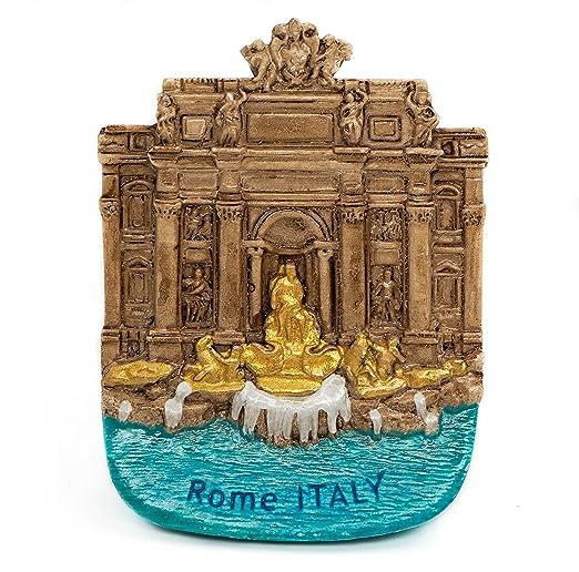 zamonji Fuente de Trevi/Fontana di Trevi, Roma Italia 3D Imanes ...