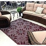 5'x7' indoor Outdoor rug rv mat patio camping reversible rug 20287