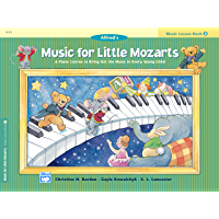 Music for Little Mozarts, Lesson Book 2: A Piano Course to Bring Out the Music in Every Young Child book cover