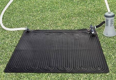 Intex 28685 - Alfombra calentador solar de agua 120 cm, Negro