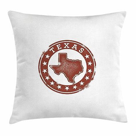 Amazon Lunarable Texas Throw Pillow Cushion Cover Classical Enchanting Dallas Cowboys Decorative Pillow