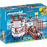Playmobil - 5539 - Jeu De Construction  - Poste De Sauvetage