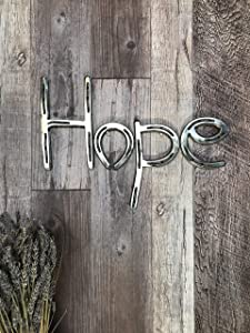 Metal Wall Art, Horseshoe Decor, Farmhouse wall decor, Rustic Wedding gifts, Gift for her