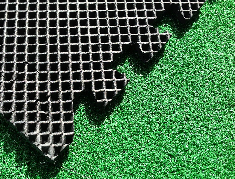 Asc erba artificiale piastrelle u eva piastrelle con erba