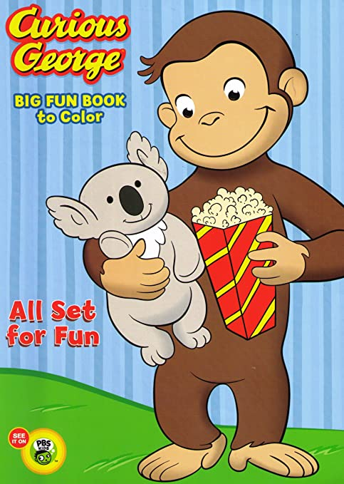 Curious George Coloring And Activity Book Set (2 Coloring Books):  Amazon.ca: Toys & Games