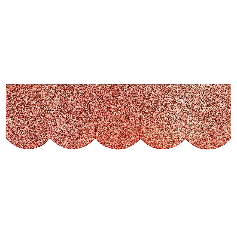 1m² Mini - Dachschindeln Biberschwanz (100 mm) - Rot  23.438 Mini Dachschindel Werkstätten Martinshof