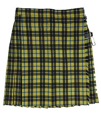 Glen Isla - Falda - Falda Escocesa - para Mujer: Amazon.es: Ropa y ...