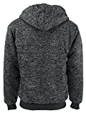 Leehanton Hooded Sweatshirts Men Long Sleeve Full