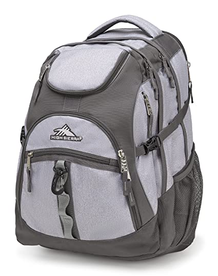310ea210f Amazon.com: High Sierra Access Laptop Backpack, Jersey Knit/Slate ...