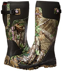 LaCrosse Women's Alphaburly Pro 15 Realtree APG Hunting Boot - Material