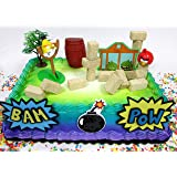 Amazoncom Angry Birds Party Supplies Cake Topper Decorating Kit