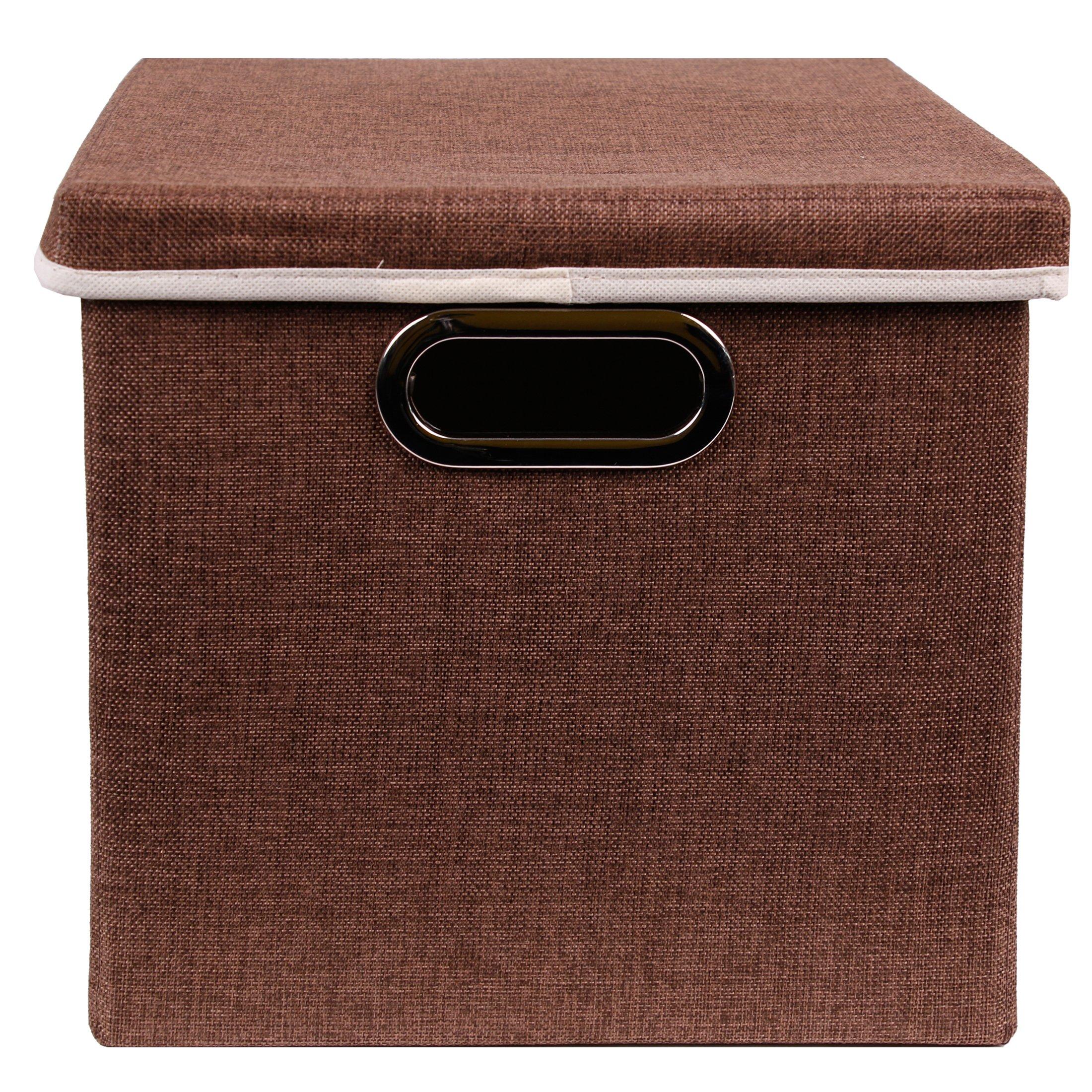 Aufbewahrungsbox Stoff Mit Deckel: Amazon.de