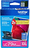 Brother Printer LC79M Super High Yield (XXL) Magenta Cartridge Ink - Retail Packaging