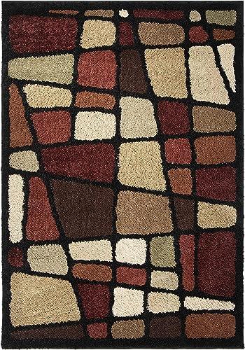Orian Rugs Shag-Ri-La Streetfair Area Rug, 6 7 x 9 8 , Multicolor