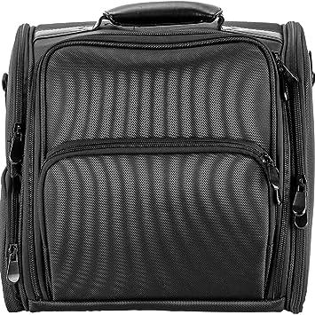 b0a90b9b2ab1 Hiker Hk3603 Soft Sided Professional Travel Makeup Case, Nylon Black