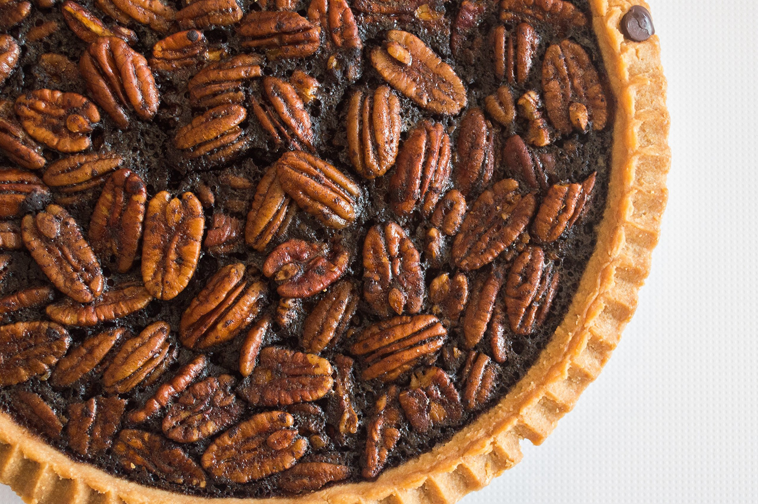 Three Brothers Bakery Award Winning Chocolate Fudge Southern Pecan Pie