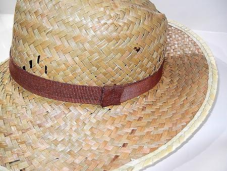 Cappello uomo donna etnico di paglia contadino alpino retrò vintage   Amazon.it  Casa e cucina 6fd27866b86a
