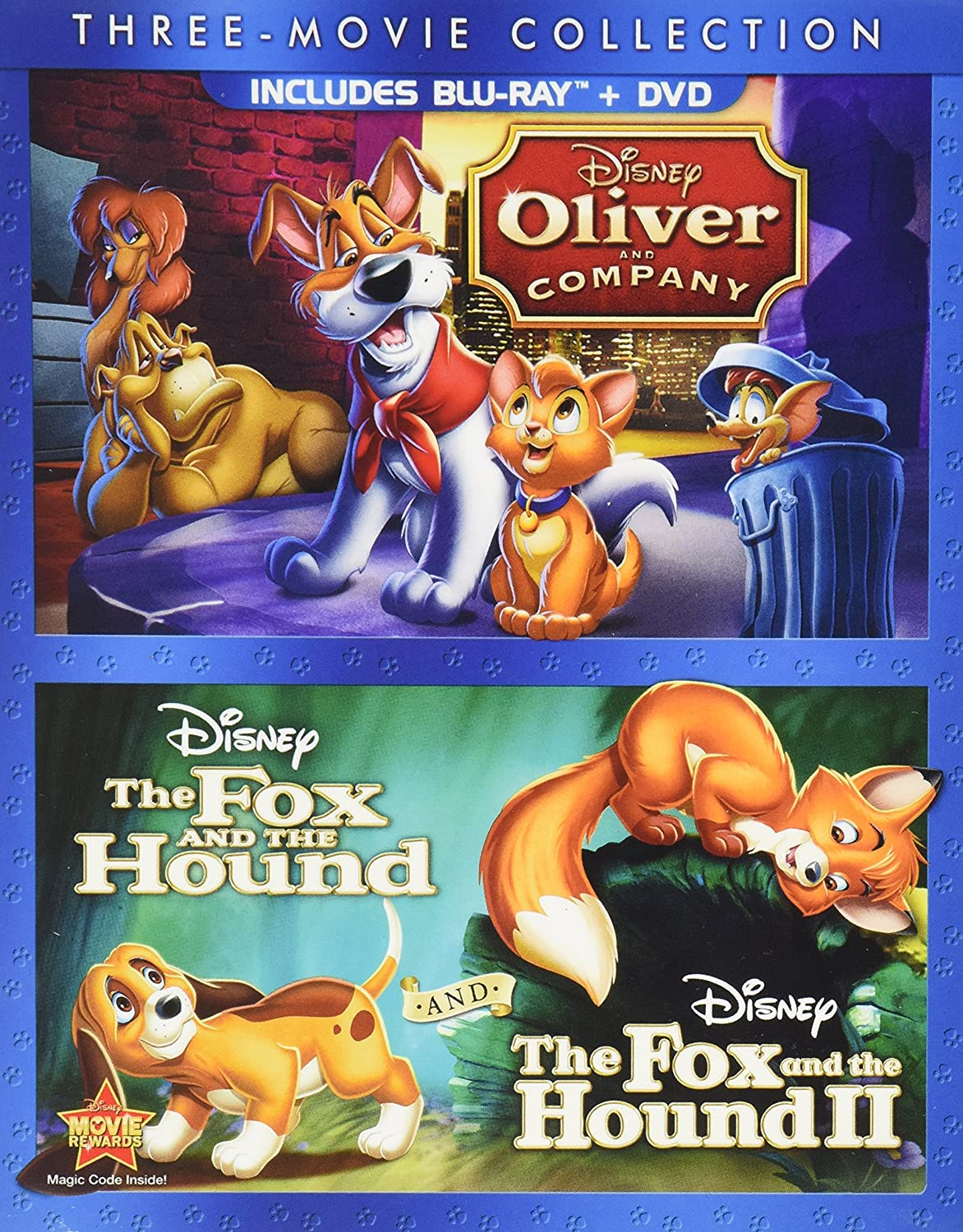 amazon com disney three movie collection oliver and company