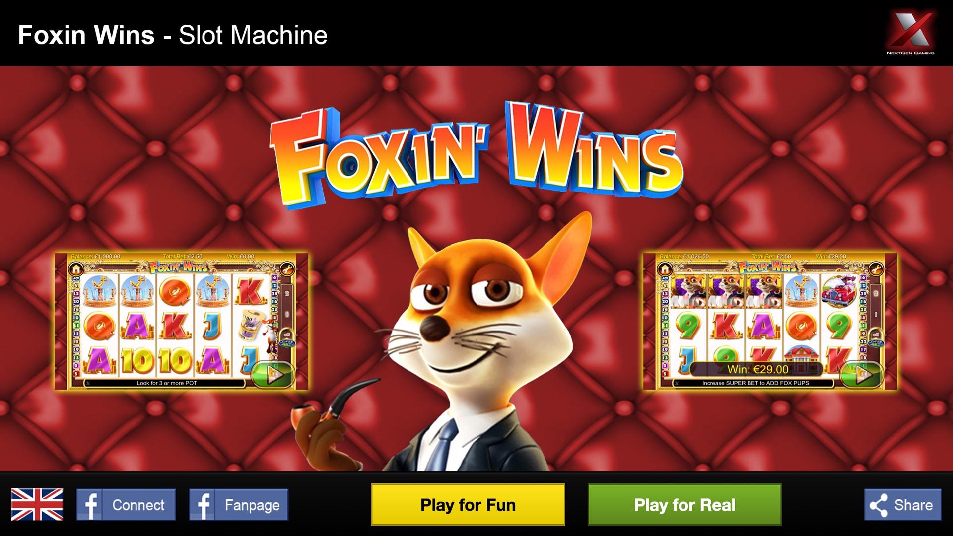 foxin wins casino