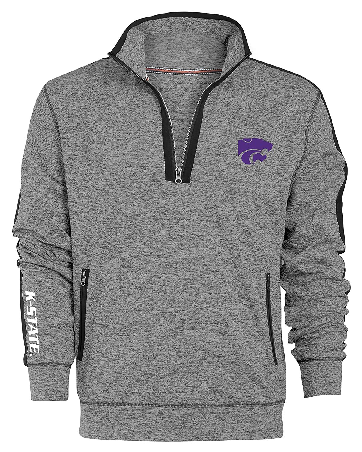 Camp David NCAA Roadster Herren Premium quarter-zip Pullover, herren, Roadster, Gunpowder, Medium