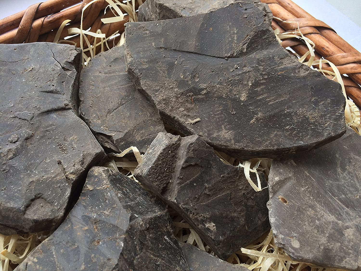 450 g food SAPPHIRE clay chunks natural for eating