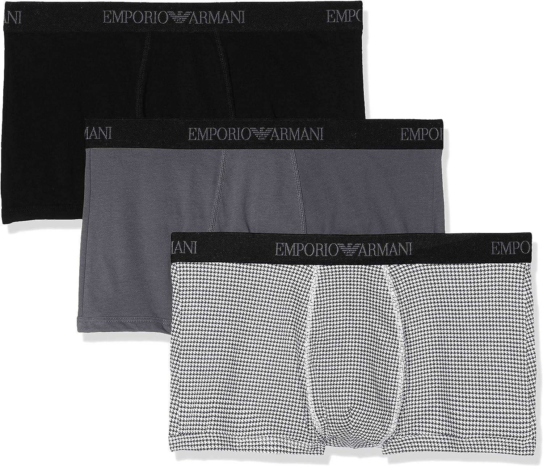 Emporio Armani Underwear Braguita (Pack de 3) para Hombre: Amazon.es: Ropa y accesorios