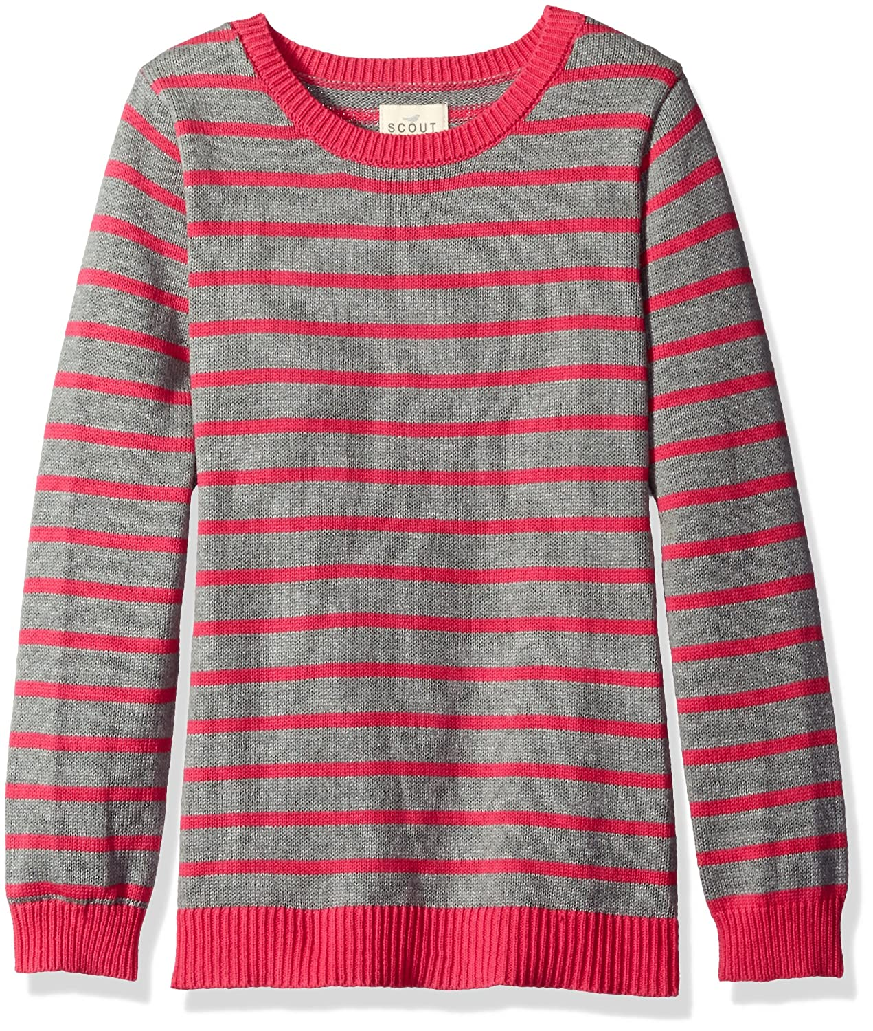 Scout + Ro Girls' Stripe Sweater Tunic SEC0006