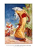 8x10 Fine Art Print, Aladdin and the Genie in the