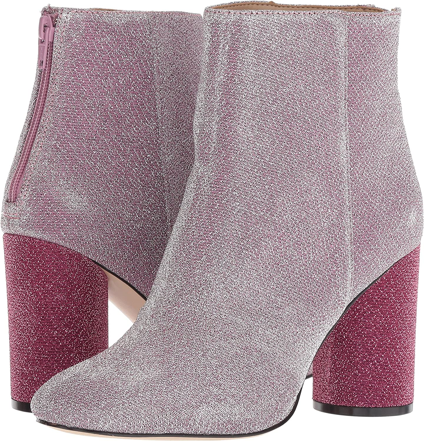 Katy Perry Women's The Mayari Ankle Boot B07D5G2SX5 7 B(M) US|Pink Metallic Stret