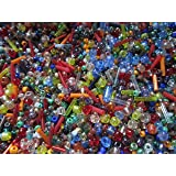 500+ Mixed Glass Seed & Bugle Beads 2-7mm Jewellery Making Sewing Bead Art by Make It With Beads by Make It With Beads