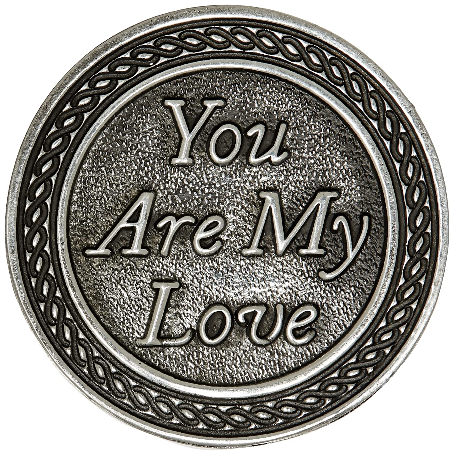 Cathedral Art You are My Love Pocket Token 1-Inch