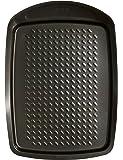 Pyrex 33 x 25 cm Large Metal Asimetria Easy-Grip Baking Tray, Brown