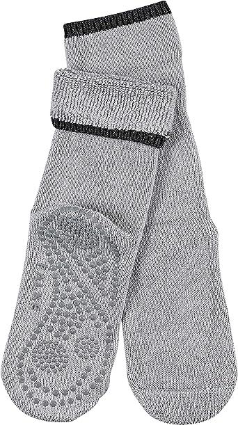 FALKE Haussocken Cuddle Pads Baumwolle Schurwolle Damen schwarz grau viele weitere Farben verst/ärkte H/üttensocken ohne Muster atmungsaktiv Noppendruck rutschhemmend auf der Sohle 1 Paar