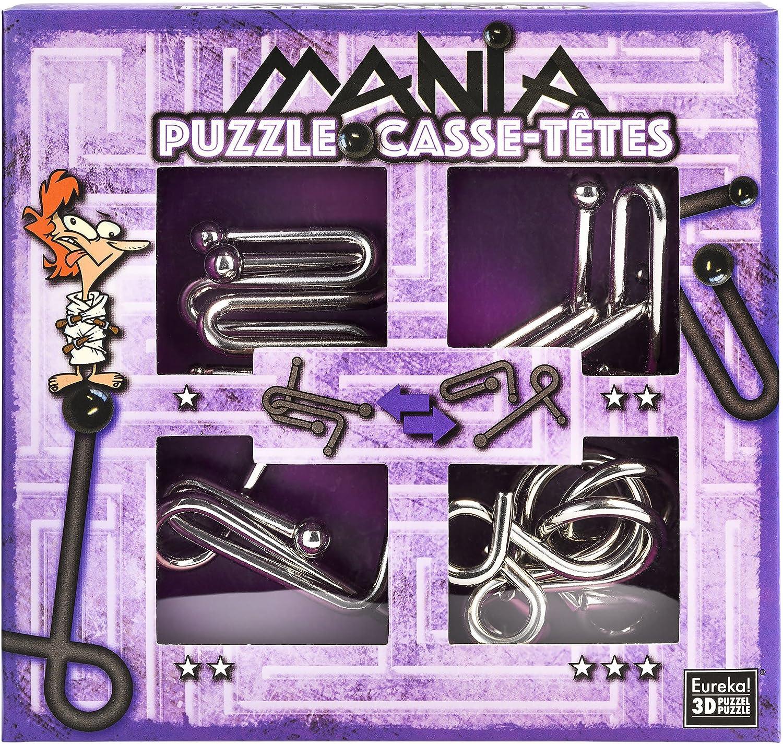 Eureka 3D 473204 Puzzles 3D – Puzzle Mania: Amazon.es: Juguetes y juegos