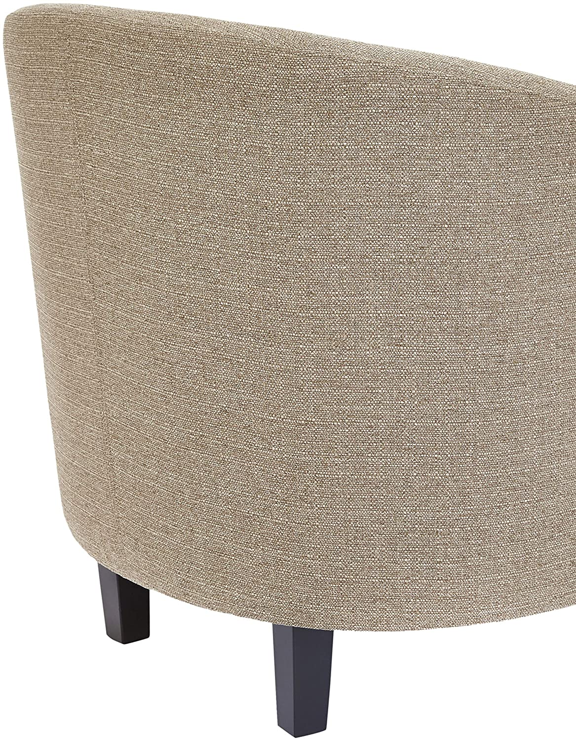 Red Hook Galia Linen-Look-Upholstery Accent Tub Chair Sandstone