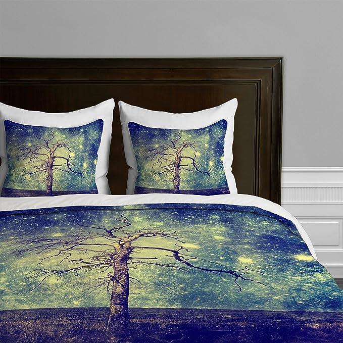 Deny Designs Belle13 Happy Spring Duvet Set 2 Piece