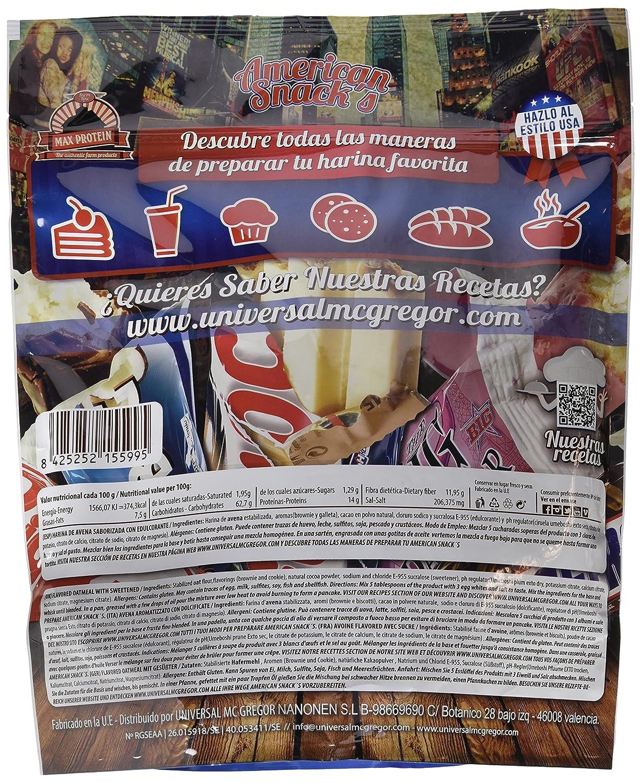 Max Protein American Snacks Harina de Avena - 2000 gr: Amazon.es: Salud y cuidado personal