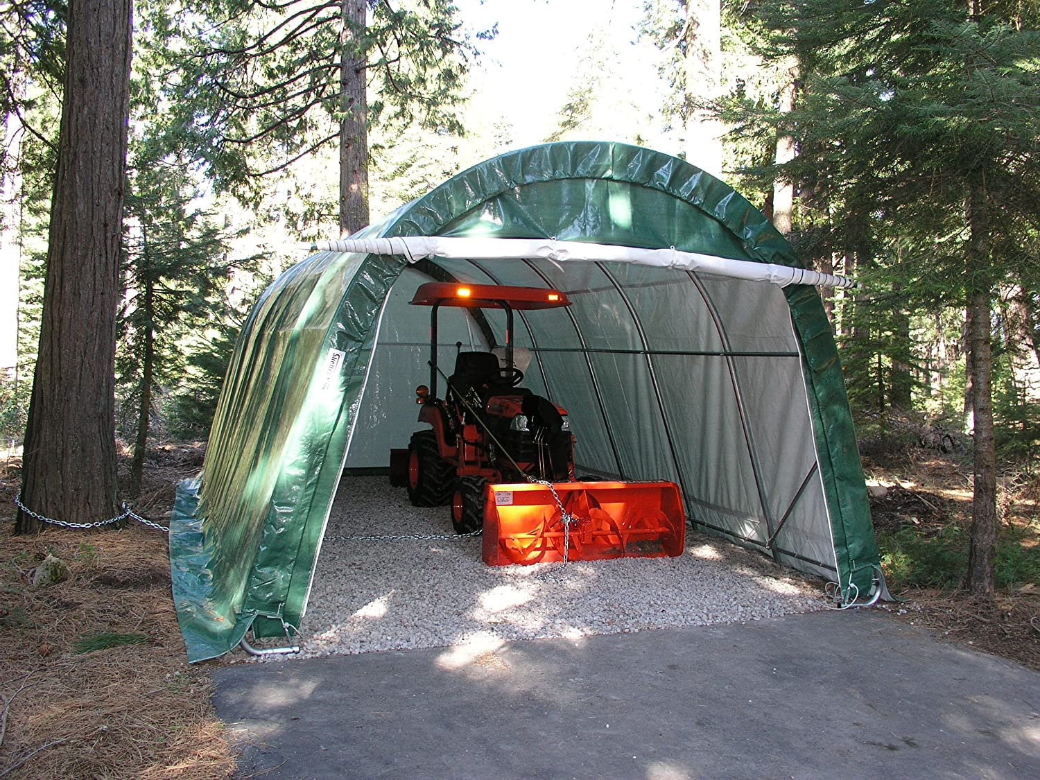 Amazon.com : Portable Carports |Instant Garages | Vehicle Shelters (Green,  House 12Wx20Lx8H) : Garden U0026 Outdoor