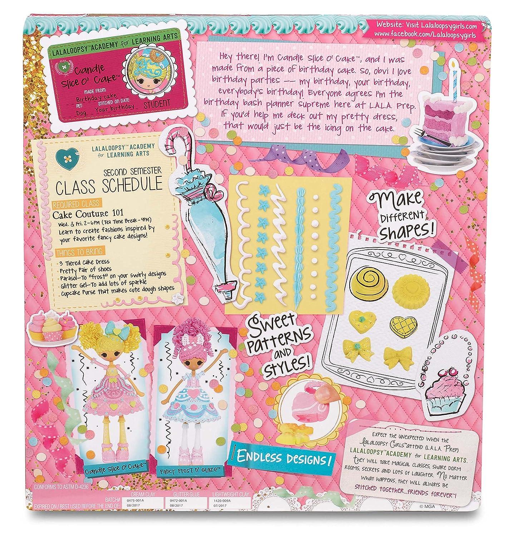 Lalaloopsy Girls Cake Fashion Doll Candle Slice O Cake