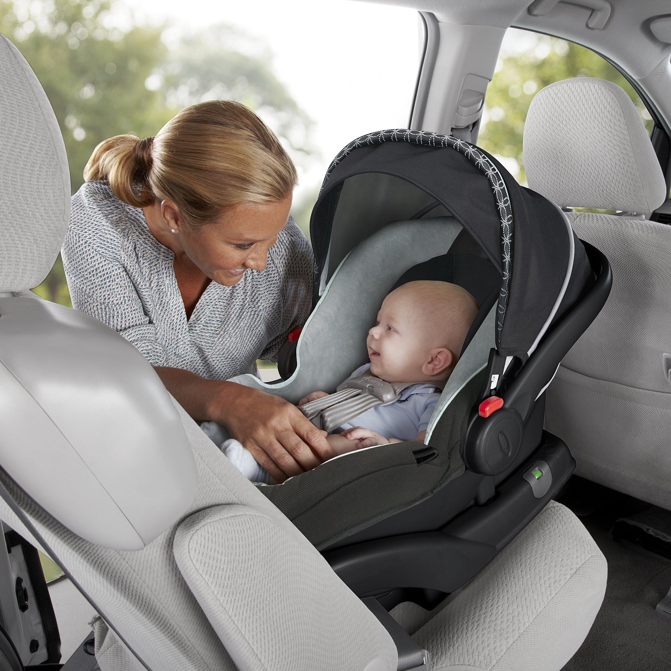 graco snugride click connect 30 35 lx infant car seat base black one size amazon. Black Bedroom Furniture Sets. Home Design Ideas