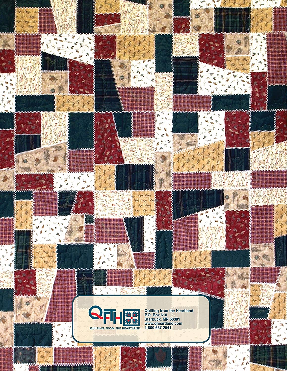Amazon.com: Crazy Quilt Templates by Sharlene Jorgenson : quilting from the heartland - Adamdwight.com