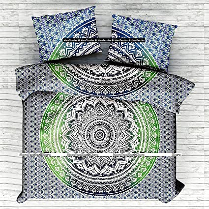 Juego de ropa de cama Kiara, 3 unidades, suave, para cama de matrimonio