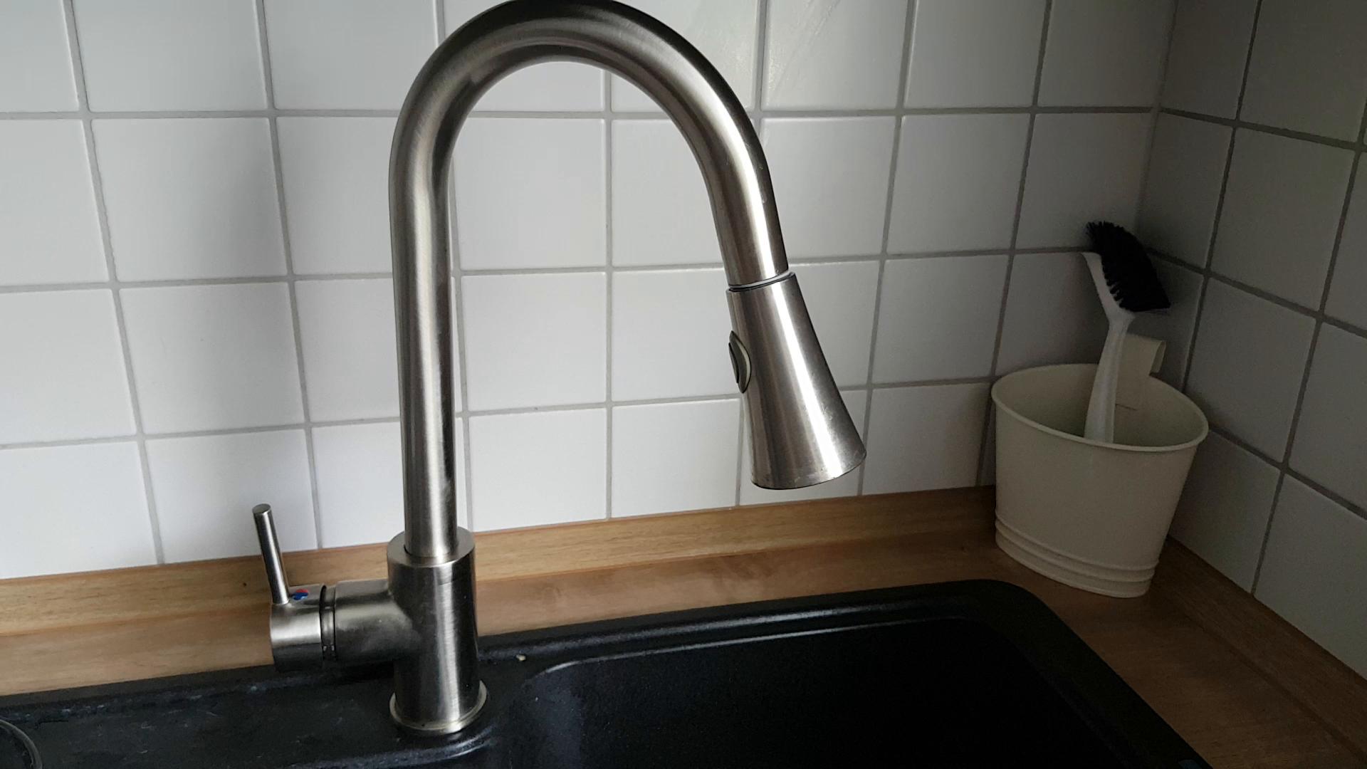 Auralum 2 Typ Wassertyp Elegant 360°Drehbar Ausziehbar Küchenamatur