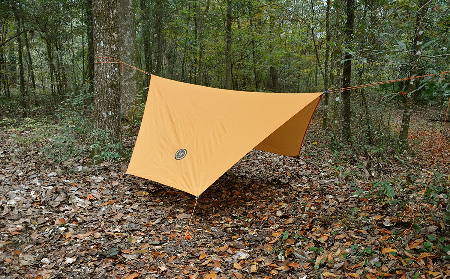Multifunctional Use and Reversible and Flame Retardant Construction for Emergency UST Tube Tarp and Camping Shelter with Compact Backpacking and Outdoor Survival Camping Hiking