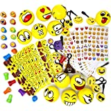 Joyin Toy 68 Pieces Assorted Emoji Toy Party Favor Pack