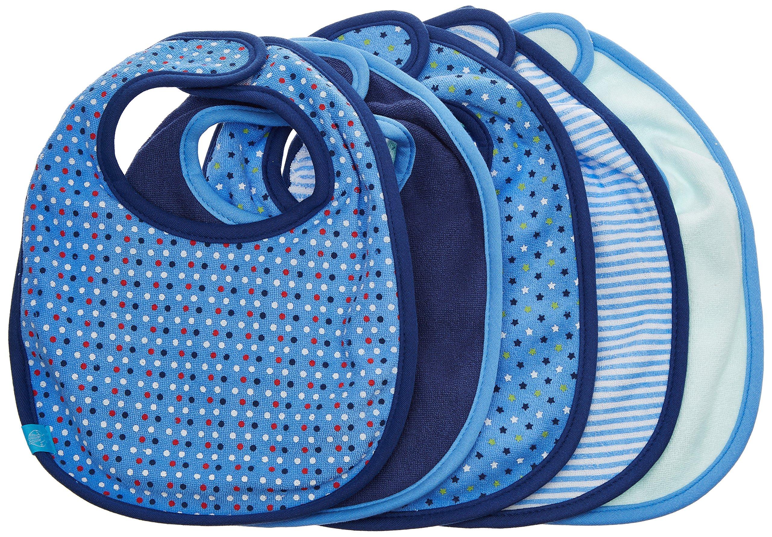 Lässig - Juego de 5 baberos azul marine Talla:talla única product image
