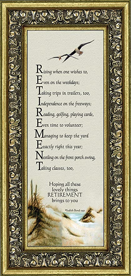 Amazon.com - Retirement, Gifts for Men and Women Picture Frame ...