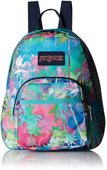 e4130afd73d Amazon.com | JanSport Half Pint Mini Backpack - Electric Palm ...